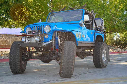 This 1982 stretched CJ-7 is the ultimate street and trail 4x4.