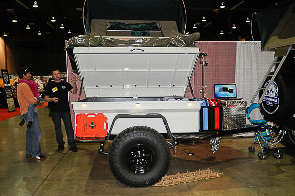 Sierra 4x4 Trailers on display at Reno Off-Road Expo