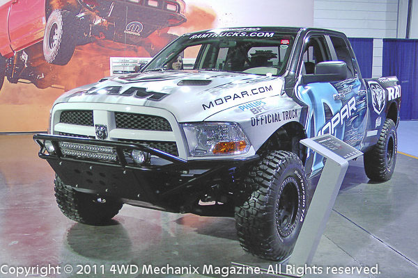 Dodge and Ram trucks have a legendary presence in off-road racing...The future is equally bright!