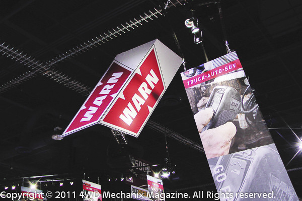 Warn Industries at the 2011 SEMA Show Las Vegas
