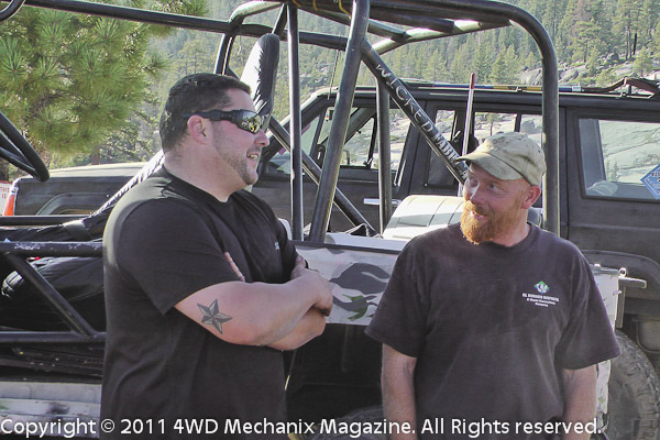 Vets and drivers talk about the Rubicon Trail...