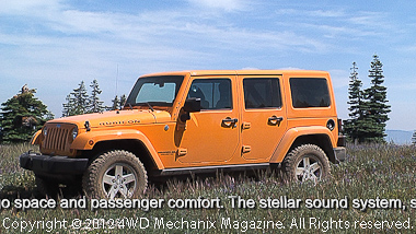 2012 Jeep JK Wrangler Unlimited Rubicon 4x4 is the most refined off-pavement utility model to date!