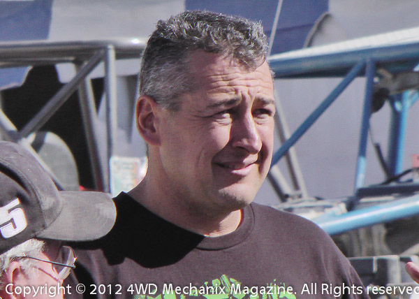 Shannon Campbell on contingency day at the 2012 Griffin King of the Hammers Race week!