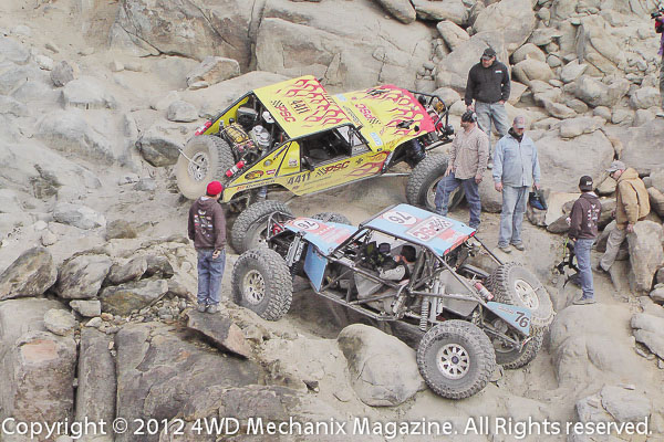 Johnson Valley and the Hammers provide the most grueling challenges for Ultra4 buggies.