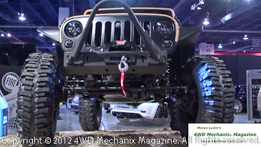 Mopar Sand Trooper Jeep JK Wrangler on display at SEMA Show
