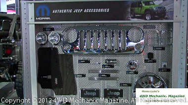 Mopar Jeep Accessories is expanding rapidly.