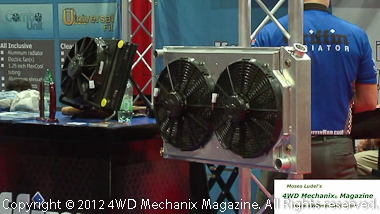 Griffin Radiator and Spal Fans
