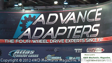 Advance Adapter at 2012 SEMA Show