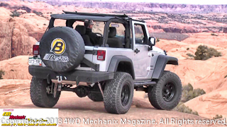 2013 Bestop Jeep JK Wrangler on the slickrock at Moab