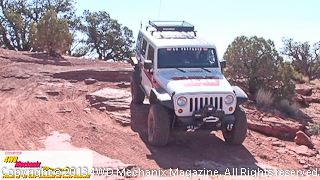 Warn's Jeep JK Wrangler at the Moab media run