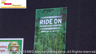 U.S. Forest Service and Tread Lightly message is clear at the Reno Off-Road Expo!
