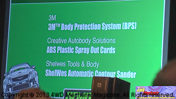 Creative Autobody Solutions wins SEMA new product award.