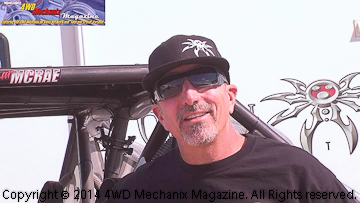 Larry McRae interview at the 2014 Tierra Del Sol Desert Safari!