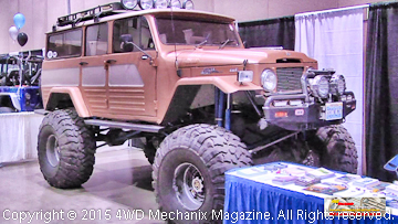 Vintage Toyota FJ Station Wagon at 2015 Reno Off-Road & Motorsports Expo