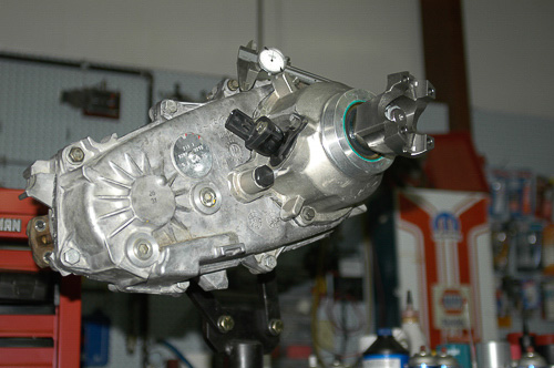 NP/NV231 transfer case with SYE