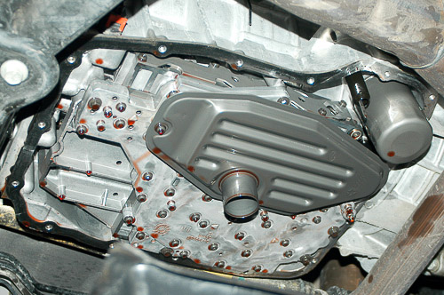45RFE transmission in 2002 Jeep Liberty