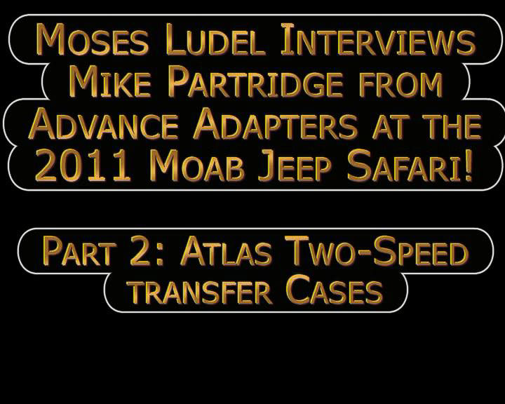 Interview with Mike Partridge of Advance Adapters