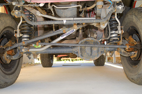Moses Ludel begins alignment on his '99 XJ Cherokee.
