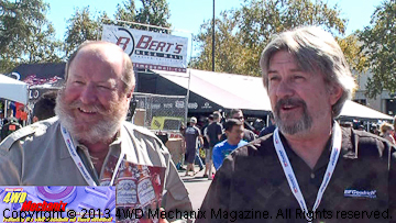 Bob Bower and Jeff Cumming of BFG Tires
