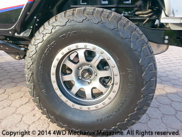 The new BFGoodrich® All-Terrain KO2 tire design