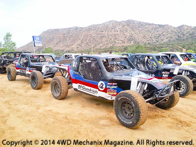 Wide Open Baja buggies compete in the Baja Races!