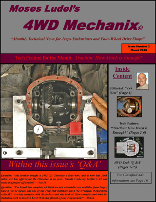 Click on this cover to download the March 2010 issue of 4WD Mechanix Magazine. Allow time for downloading.