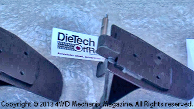 Die Tech Off-Road's mirror relocation brackets for the Jeep TJ Wrangler