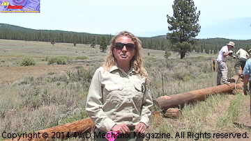 U.S. Forest Service recreational specialist