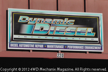 Dynamic Diesel, Inc., at Sparks, Nevada serves all makes of diesel light trucks. Visit www.dieseldynamicsinc.com for details.