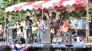 The band at Dynamic Diesel, Inc., Grand Opening