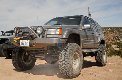 ZJ Grand Cherokee at Moab EJS 2010