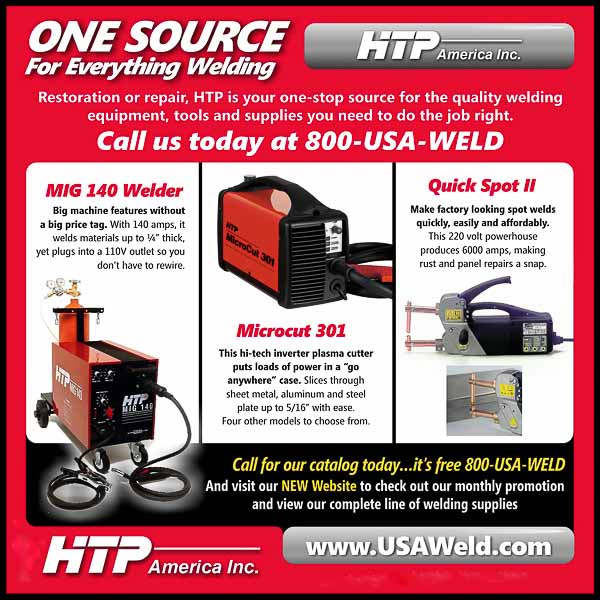 HTP America, Inc., welding equipment.