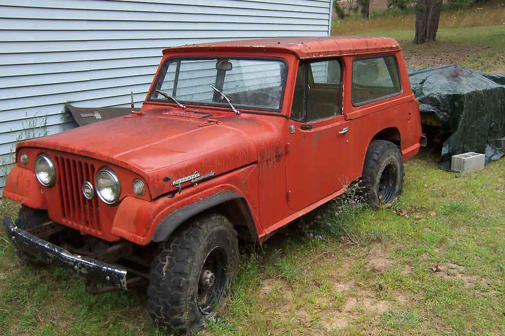 Father-son project Jeepster with Rustbelt challenges!