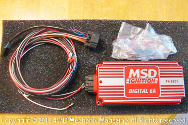 MSD's renown 6A digital box is a key component of Atomic EFI.