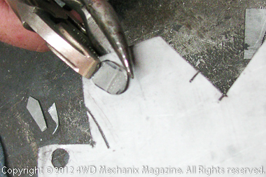 Shaping inserts for the elongated slots