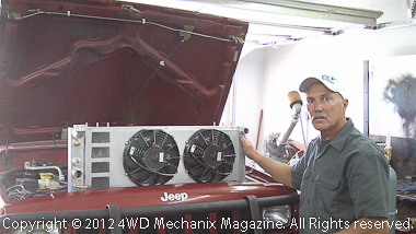 Moses Ludel discusses Jeep XJ Cherokee cooling and the latest Griffin Radiator solution!