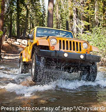 2012 Jeep JK Wrangler on the trail!