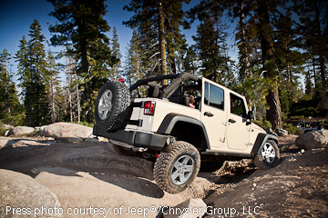 JK Wrangler Unlimited is popular for family SUV use.