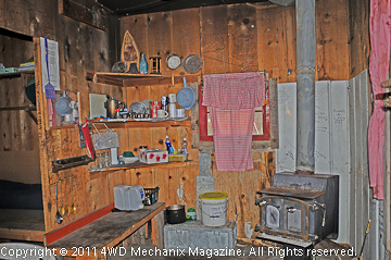 Nugent cabin from the sheep and cattle herding eras