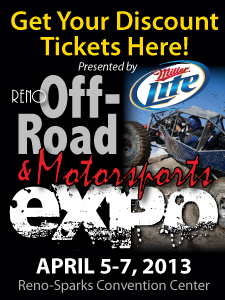 2013 Reno Off-Road Motorsports Expo!