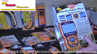 Actron and OTC electronic OBD-1 and OBD-II diagnostic tools from SPX/Service Solutions