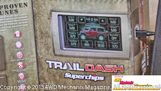Trail Dash by Superchips for late Jeep performance