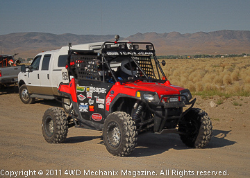 UTV, go! This is another highly competitive class with a much less costly price of admission!