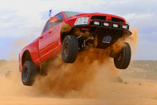 Mopar's Ram Runner catches major air in the desert!