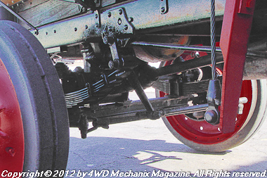 Nash-Quad steering linkage