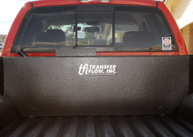 75-gallon Transfer Flow fuel tank and spray-in bed liner