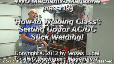 HD video: Setting up Invertig 221 for stick welding