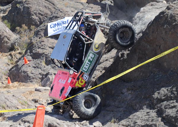 Tough professional rock crawling at its best!