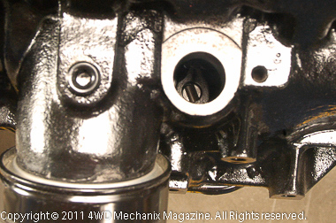 1987-90 YJ Wrangler 4.2L oil filter mounts to block