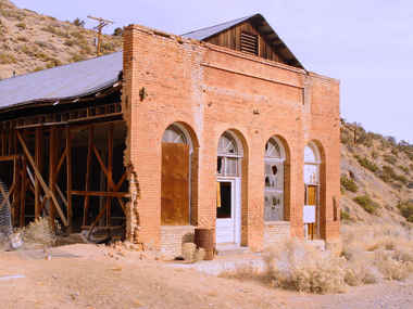 General Store at Tybo Kilns...Central Nevada photo by Tom Willis